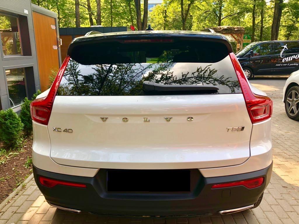Volvo XC40 wynajem samochodów warszawa 3
