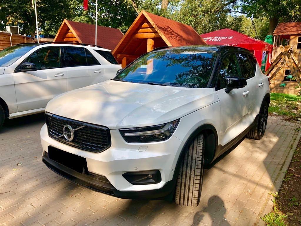 Volvo XC40 wynajem samochodów warszawa 5