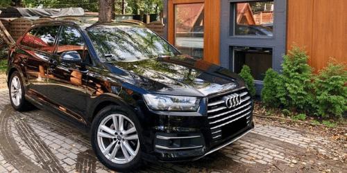 audi q7 wypożyczalnia samochodów warszawa