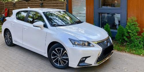 lexus ct wypożyczalnia samochodów warszawa