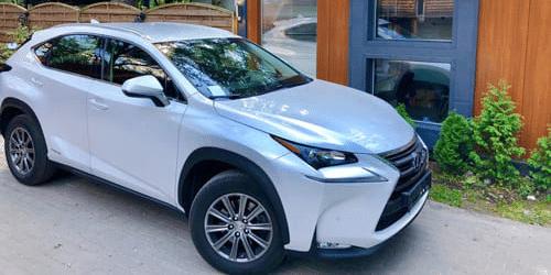 lexus nx wypożyczalnia samochodów warszawa