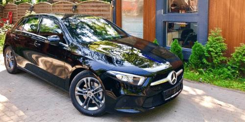 mercedes a wypożyczalnia samochodów warszawa