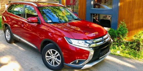 mitsubishi outlander wypożyczalnia samochodów warszawa