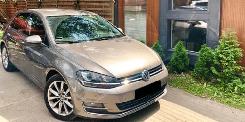 volkswagen golf wypożyczalnia samochodów warszawa