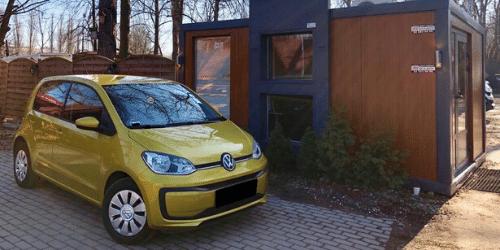 volkswagen up wypożyczalnia samochodów warszawa