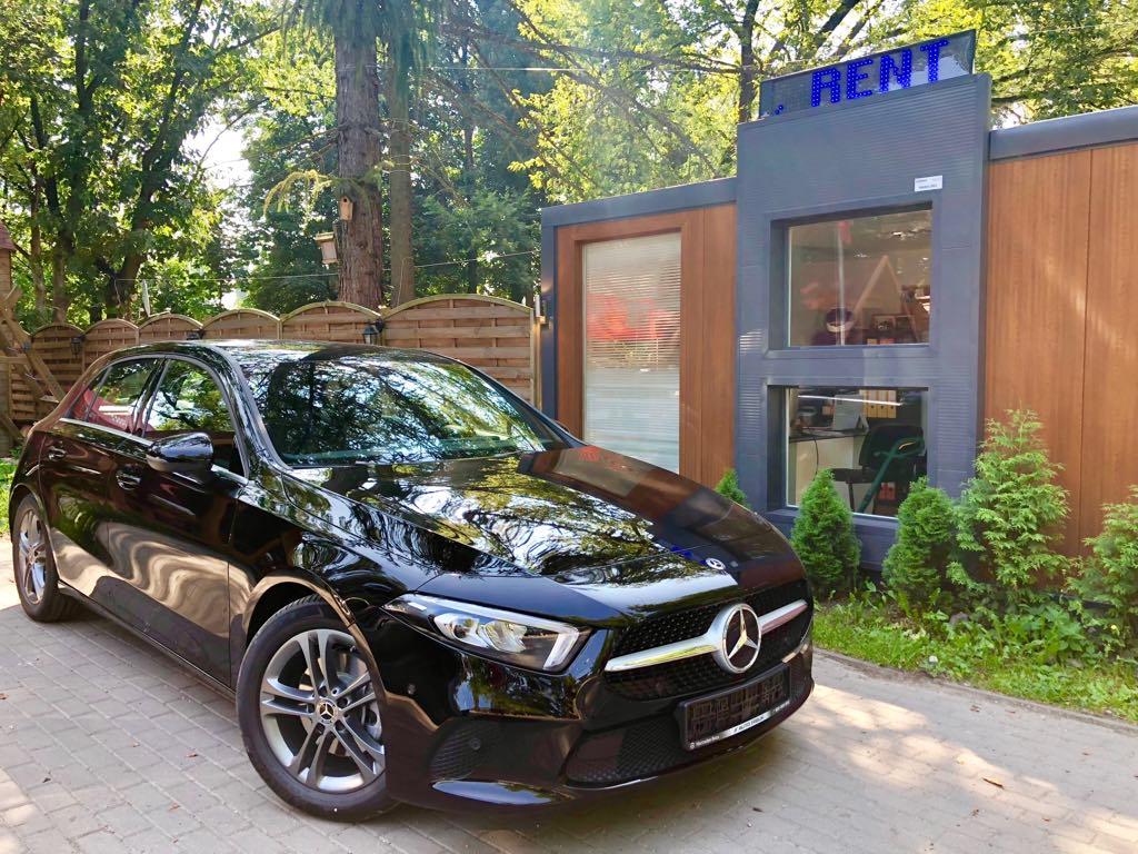 Mercedes a klasa wypożyczalnia samochodów warszawa
