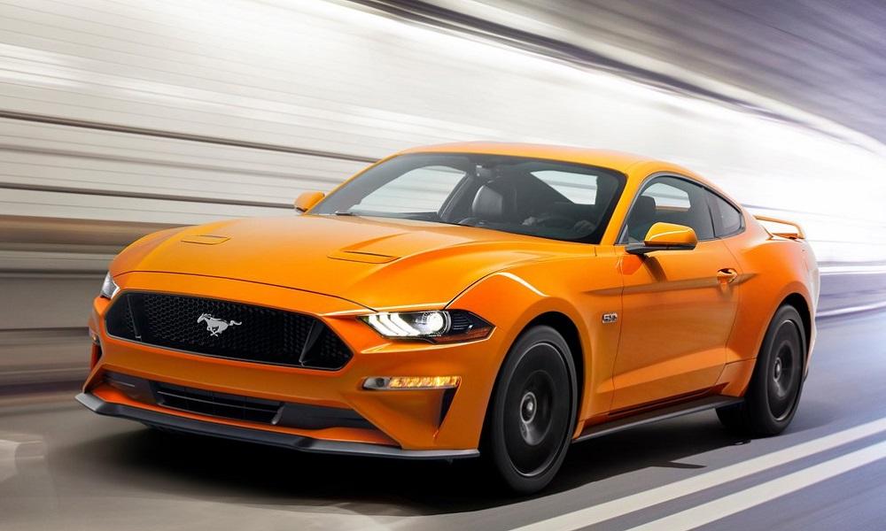 Wypożyczalnia samochodów Ford Mustang GT 4