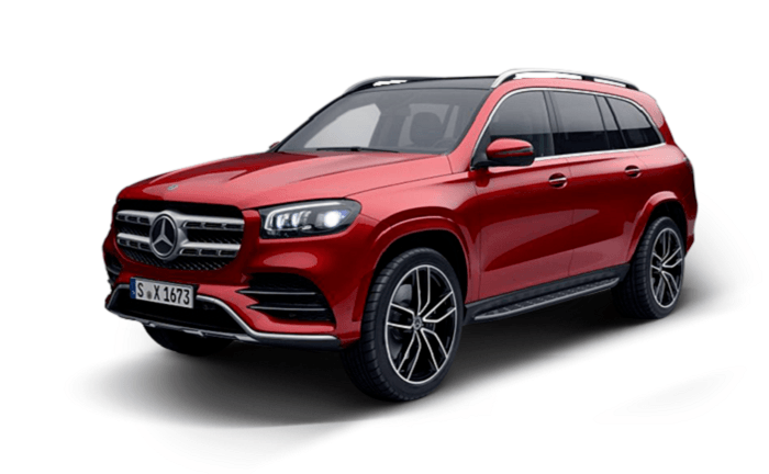 Wypożyczalnia samochodów Warszawa Mercedes GLS