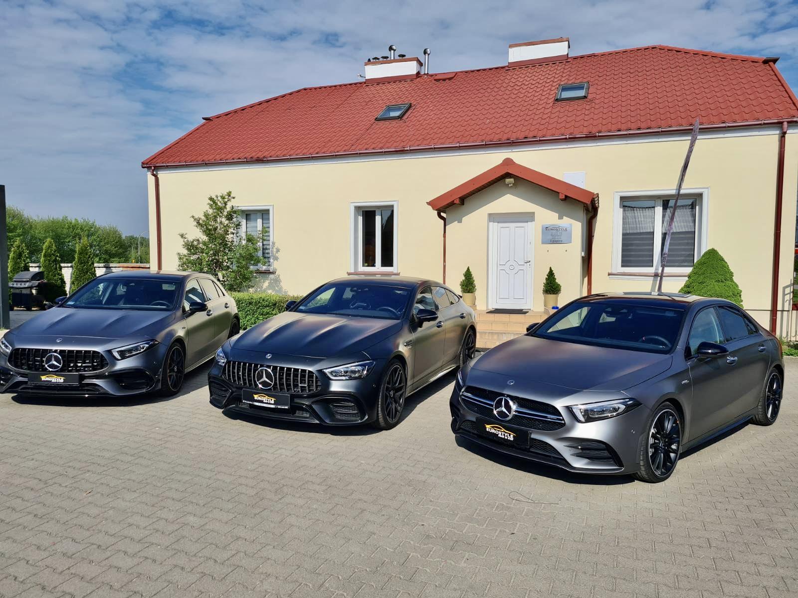 Wynajem samochodów Warszawa Mercedes
