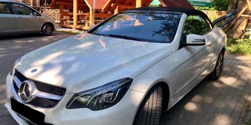 MERCEDES E200 Cabrio wynajem samochodów warszawa 6