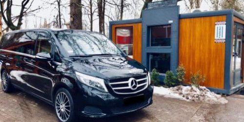 Mercedes V Klasa wynajem samochodów warszawa